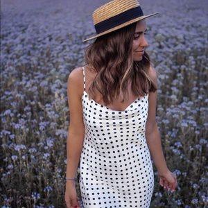 NWT Zara Slip Dress polka dot SZ S in Women's